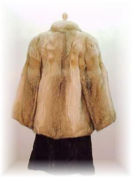 Full Skin Coyote Fur Jacket 2