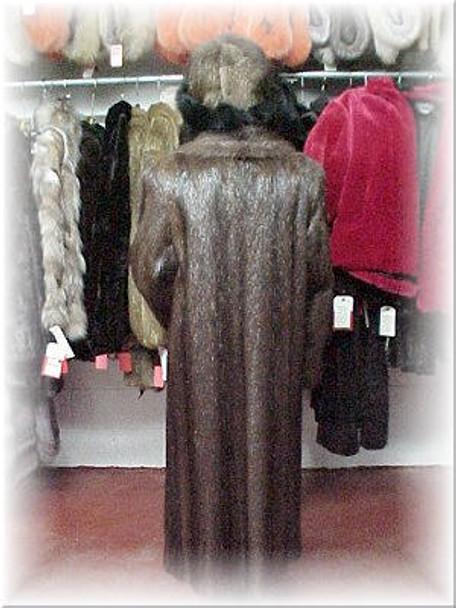 Full Skin Nutria Fur Coat