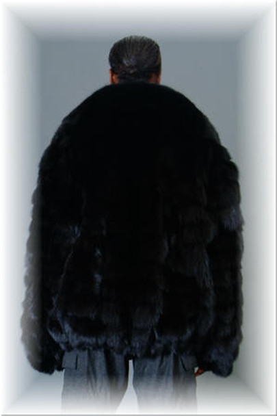 Fox Fur Bomber Jacket 5