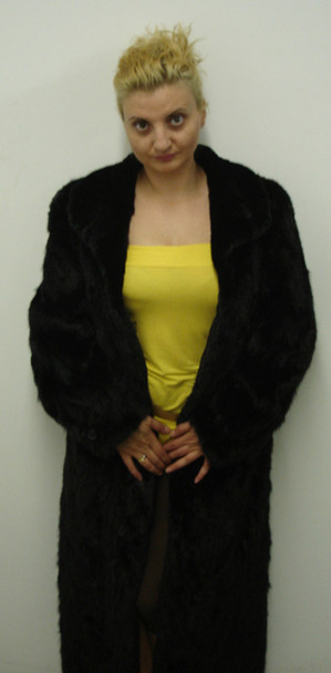 Sectional Mink Fur Coat 2