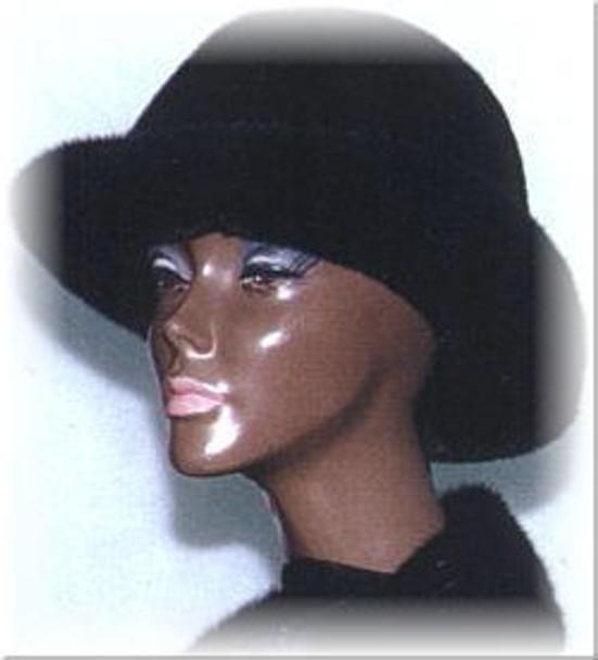 Mink Fedora Fur Hat