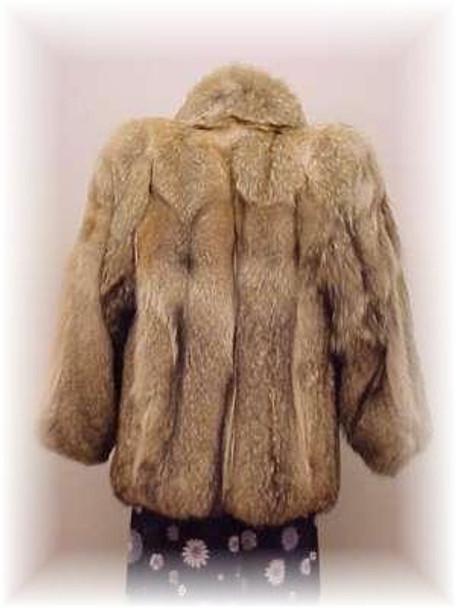 Full Skin Coyote Fur Jacket 3