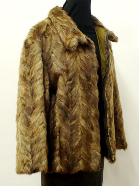 Vintage Fur Muskrat Woman's Jacket