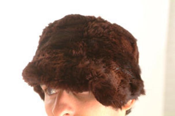Brown Beaver Style Fur Men's