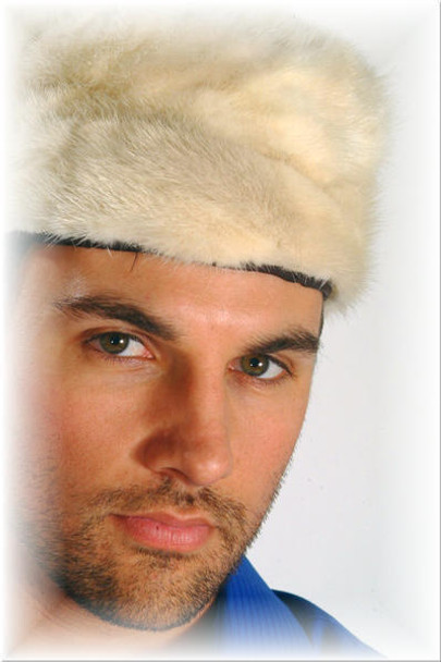 Mink Fur Skully Hat