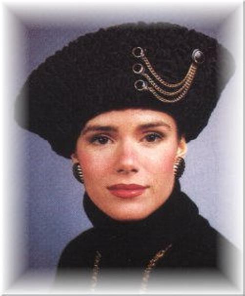 Persian Lamb Profile Shako Felt Crown
