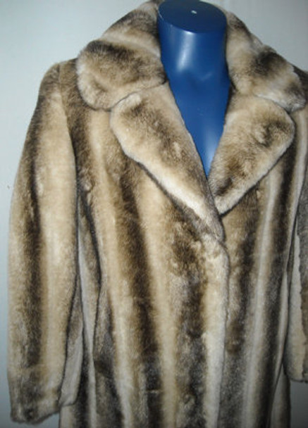 Faux Fur Designer Long Coat 3
