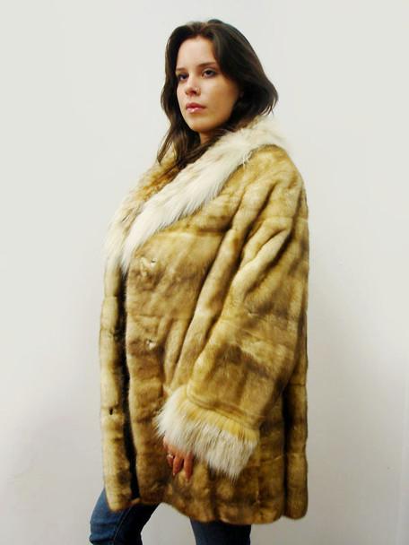 Snow Top Mink Fur Full Skin Jacket