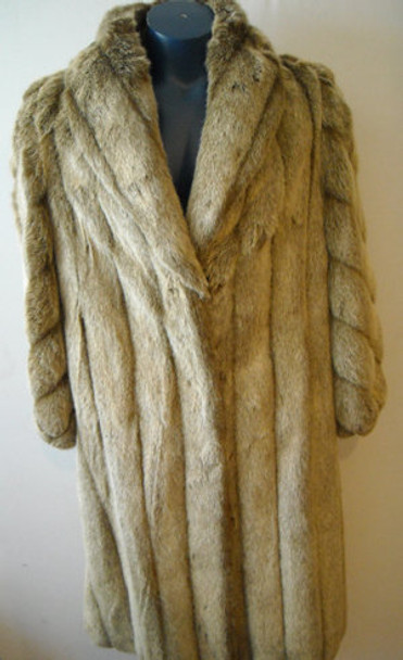Faux Fur Designer Long Coat 1