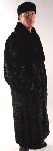 Sheared Mink Sectional Full Skin Collar