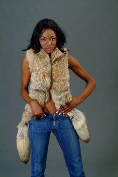 Coyotte Fur Scarf