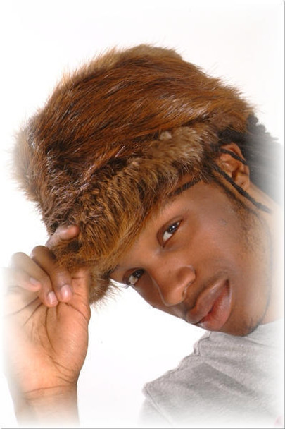Beaver Baseball Fur Cap 2