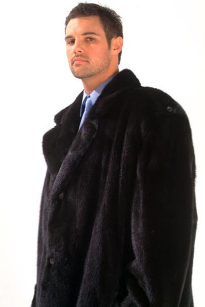 3/4 Men's Mink Jacket