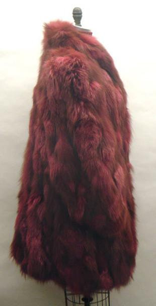 Burgundy Fox 3/4