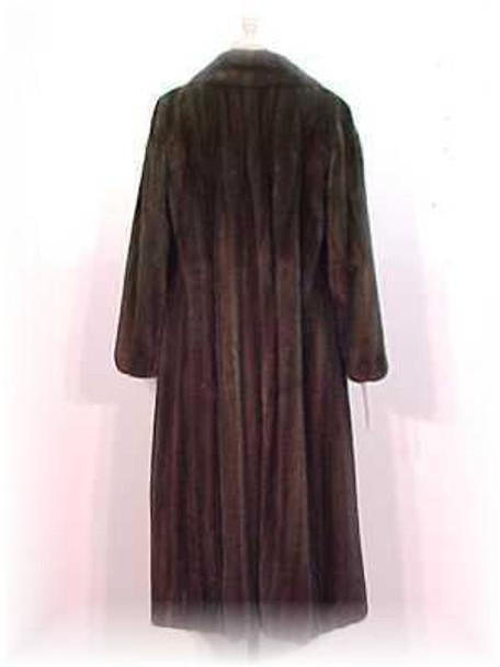 Mahogany Mink Fur Coat 1
