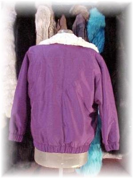 Reversible Asti Fur Jacket with Fox Fur Lining