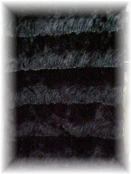 Dyed Sable Design Fur Blanket