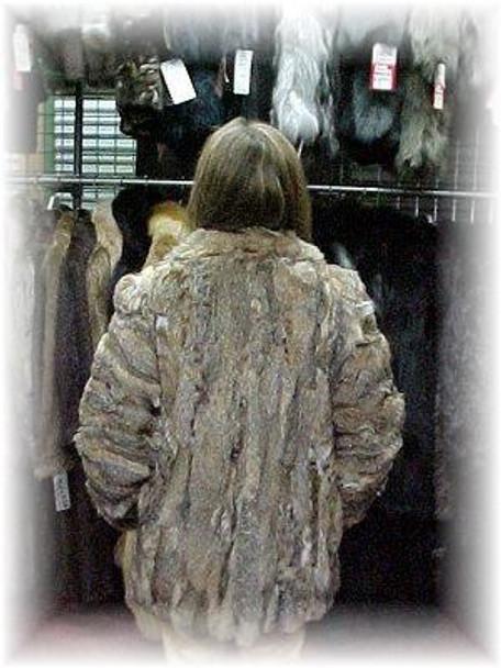 Sectional Lynx Fur Jacket 2