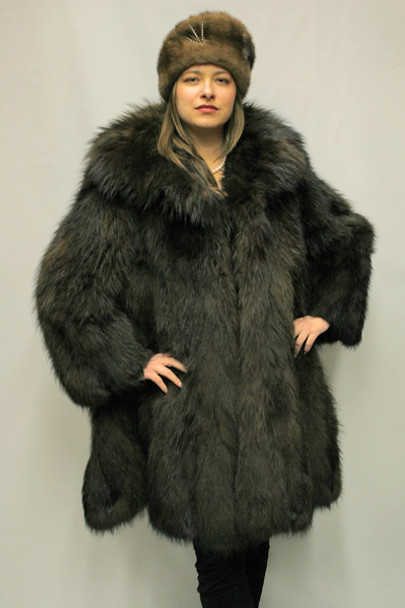 Brown Fox Fur Design