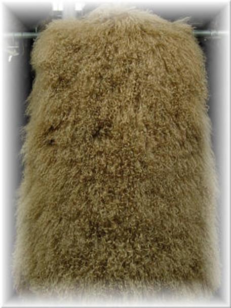 Full Skin Curly Lamb Vest