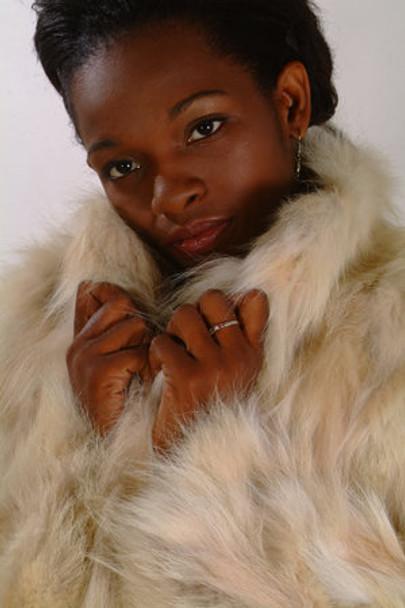 Sectional Coyotte Fur Jacket