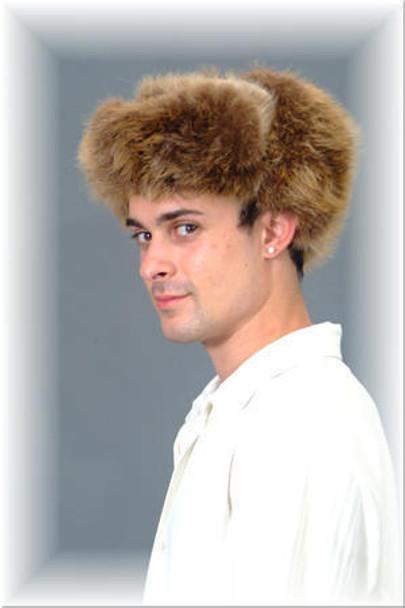 Natural Red Fox Trooper Fur Hat 1
