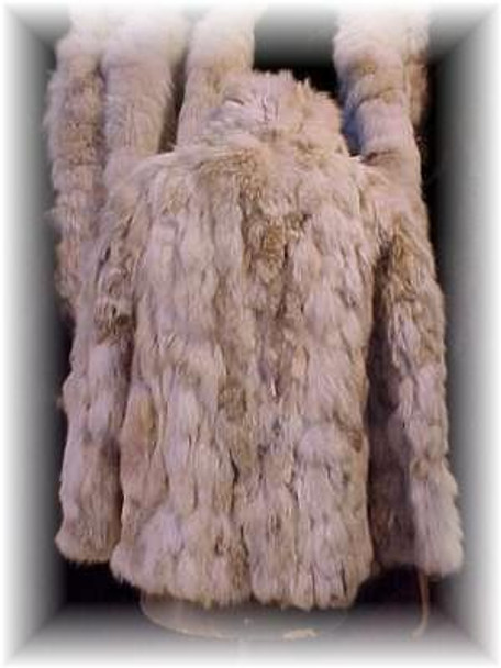 Sectional Coyote Fur Jacket 1