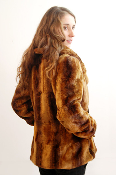 Faux Fur Mink Jacket 3