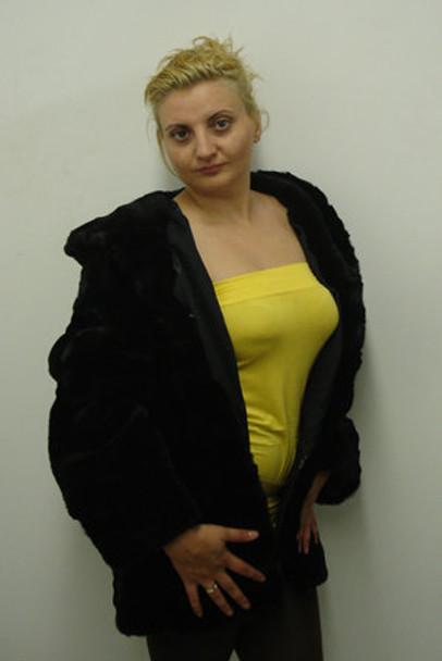 Hood Fox Fur Jacket