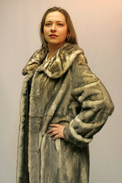 Mink Fur Coat Design 1