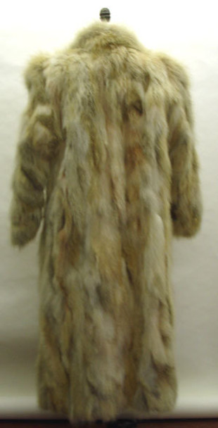 Red Fox Sectional Fur Coat