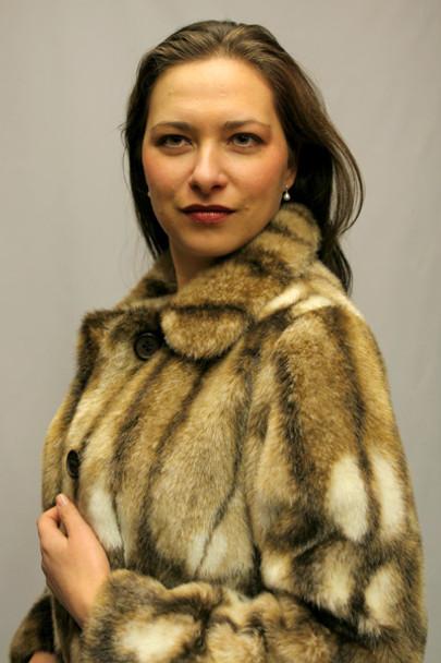 Faux Fur Mink Jacket 2