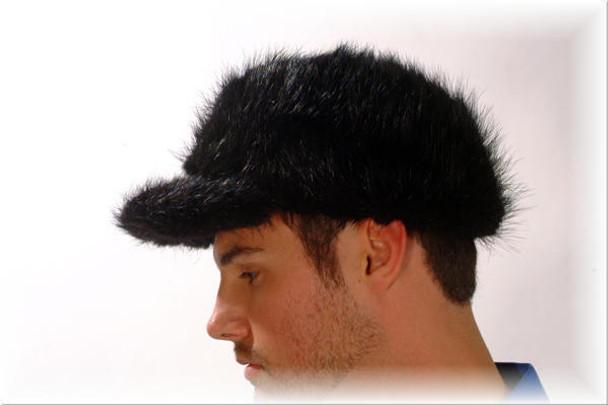 Beaver Fur Baseball Cap