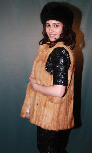 Weasel Fur Vest