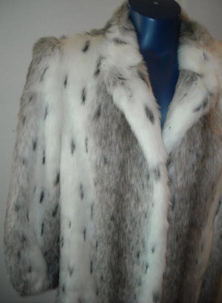 Faux Fur Designer Long Coat 10
