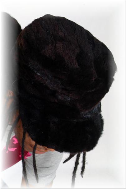 Beaver Baseball Fur Cap