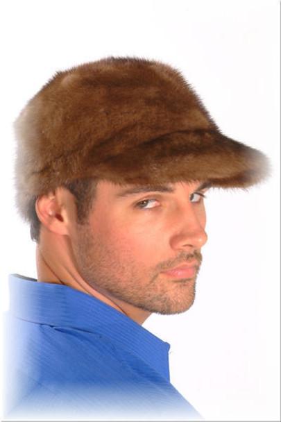 Mink Baseball Cap