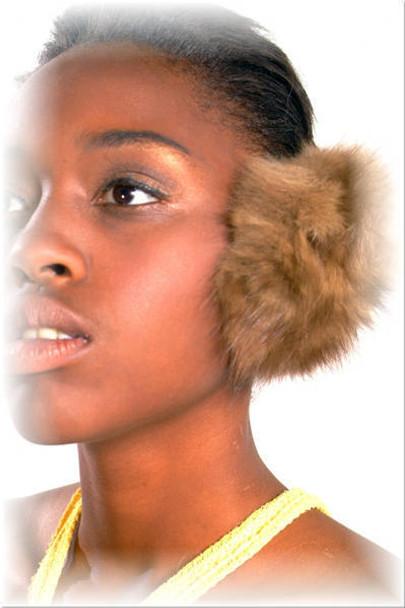 Sable Mink Fur Earmuffs