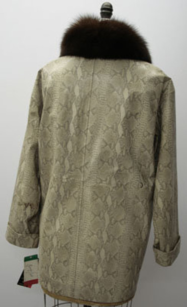 Women's Snake Skin Design Jacket