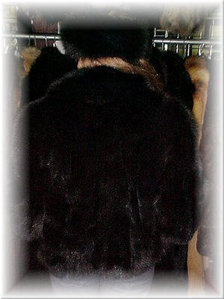 Full Skin Black Fox Bolero Fur Jacket 2