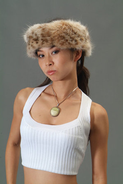 Lynx Fur Headband