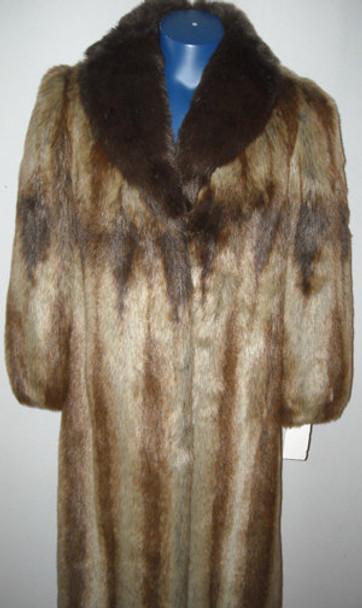 Faux Fur Designer Long Coat 8