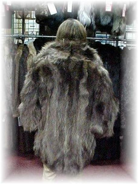 Tanuki Design Fur Jacket