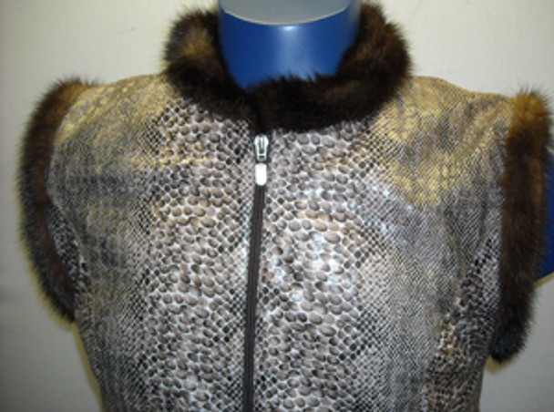 Genuine Mink Fur