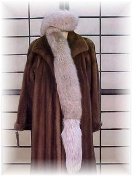 Snowtop Fox Fur Scarf