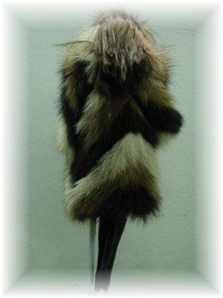 Doll's Multicolor Mink Fur Coat