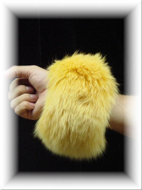 Full Skin Fox Fur Cuffs 5