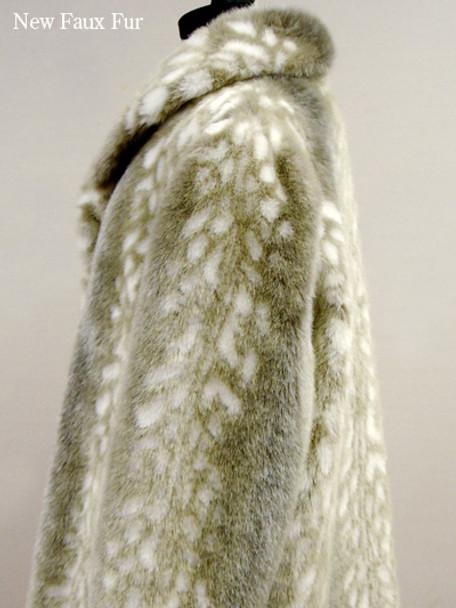 Faux Fur Mink Jackets
