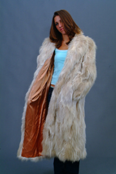 Vintage Fur Snow Top Fox Coat