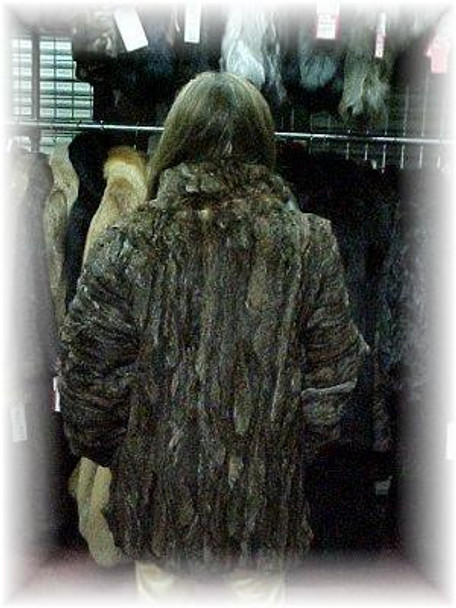 Sectional Lynx Fur Jacket 1